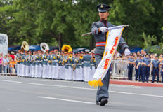 Philippine Millitary academy cadets Royalty Free Stock Photography