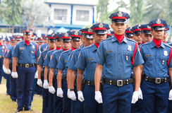 Philippine National Police Royalty Free Stock Images