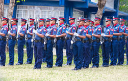 Philippine National Police Stock Images