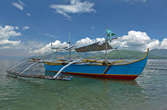 Philippine outrigger boat Royalty Free Stock Photography