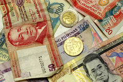 Philippine Peso royalty free stock photos