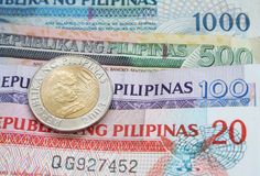 Philippine Peso royalty free stock images