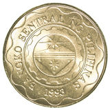 5 Philippine peso coin. Isolated on white background Stock Photo