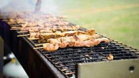 Philippine Pork Barbecue Stock Images