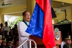 Philippine President Aquino Stock Images
