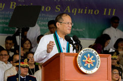 Philippine President Aquino Royalty Free Stock Photography