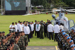 Philippine President Aquino Royalty Free Stock Photo