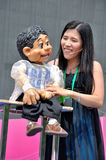 Philippine Puppet Show Stock Photography