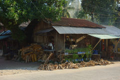 Philippine rural business Stock Photo