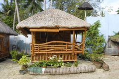 Philippine traditional house Royalty Free Stock Photo