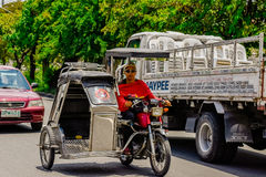 Philippine Tricycle Royalty Free Stock Photography