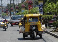 Philippine Tricycle Stock Photography