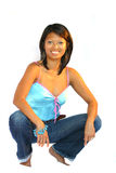 Philippine woman royalty free stock image