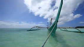Philippinen Bangka stock video