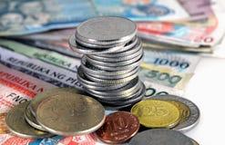 Philippinen-Bargeld Stockfotografie