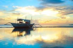 Philippinen-Boot stockfoto