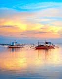 Philippinen-Boote lizenzfreies stockbild
