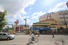 Philippines Angeles City street view Royalty Free Stock Image
