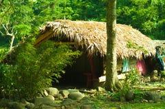 The Philippines Bahay Kubo. The Philippines Native Bahay Kubo or Nipa Hut Stock Images