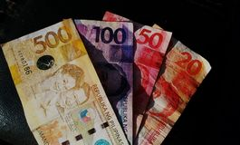 Philippines Paper Money Royalty Free Stock Image