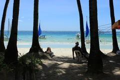 Philippines Boracay Royaltyfri Foto