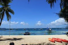 Philippines Boracay Arkivfoto