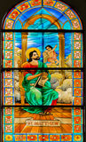 Philippines Catholic Stained Glass Royalty Free Stock Images
