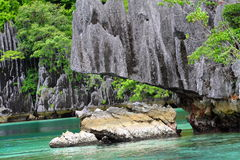 Philippines Coron Island royalty free stock photography