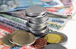 Philippines Currency Stock Photography