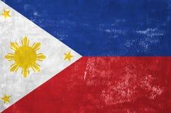 Philippines - drapeau photographie stock