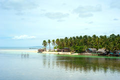 Philippines fisherman village Royalty Free Stock Photo