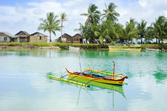 Philippines fishermans village Royalty Free Stock Photos