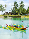 Philippines fishermans village Royalty Free Stock Images