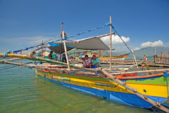 Philippines fishing boat Royalty Free Stock Image