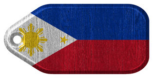 Philippines flag Stock Photography