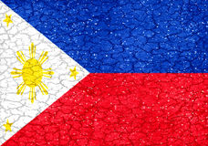 Philippines Grunge Flag Stock Images