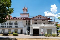 Emilio Aguinaldo Shrine in Kawit, Cavite, Philippines. Philippines Hero Emilio Aguinaldo Shrine in Kawit, Cavite, Philippines Stock Images