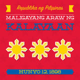 Philippines Independence Day Royalty Free Stock Photos