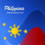 Philippines Independence Day. Vector illustration of a Banner for Philippines Independence Day stock illustration