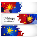 Philippines Independence Day. Vector illustration of a Banner for Philippines Independence Day royalty free illustration