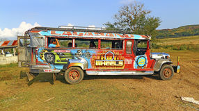 Philippines jeepney Stock Photo
