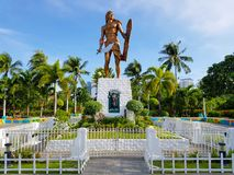 Philippines Memorial Statue. Philippines cebu hero Memorial Statue Stock Image