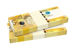 Philippines money isolated on white background. Stock Photography
