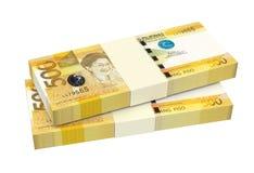 Philippines money isolated on white background. Stock Photography
