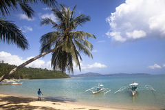 Philippines. A nice beach in Palawan, philippines Stock Image