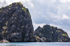 Philippines, Palawan Island. El Nido, Site A Royalty Free Stock Images