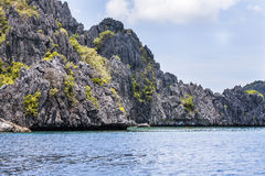 Philippines, Palawan Island. El Nido, Site A Stock Images