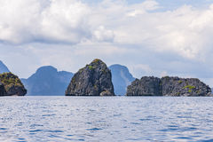 Philippines, Palawan Island. El Nido, Site A Royalty Free Stock Photography