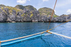 Philippines, Palawan Island. El Nido, Site A Royalty Free Stock Image