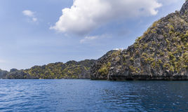 Philippines, Palawan Island. El Nido, Site A Stock Photography